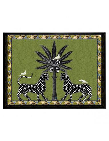 Ortigia Vassoio Rettangolare Mosaico...